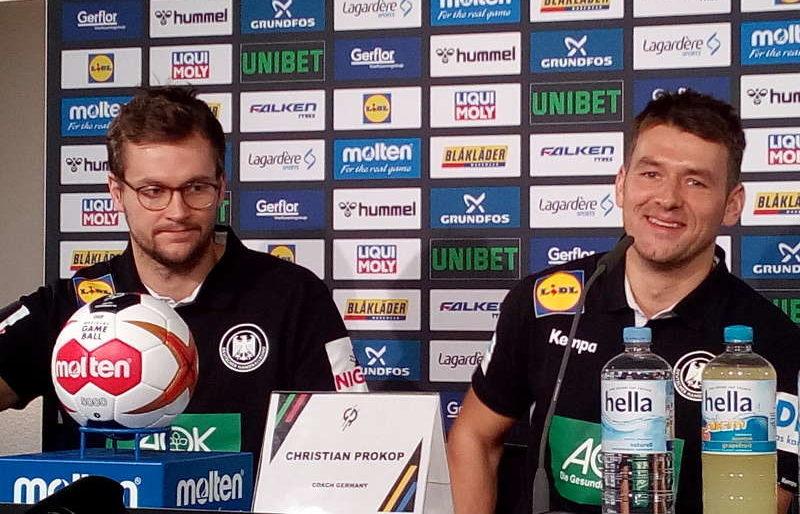 Handball WM 2019 - Christian Prokop und Fabian Böhm - Foto: SPORT4FINAL