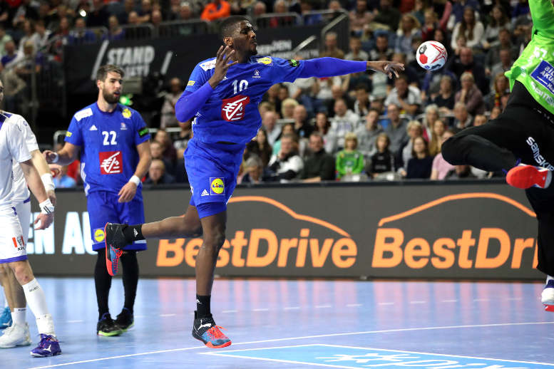 Handball WM 2019 - Dika Mem - Frankreich vs. Island - Copyright: FFHandball / S. Pillaud