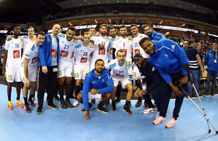 Handball WM 2019 - Frankreich vs. Russland - Copyright: FFHandball / S. Pillaud
