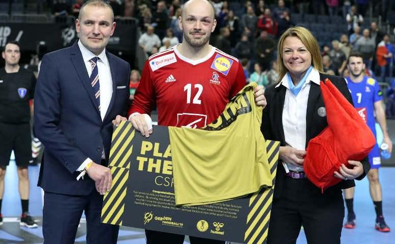 Handball WM 2019 - Vincent Gerard - Frankreich vs. Island - Copyright: FFHandball / S. Pillaud