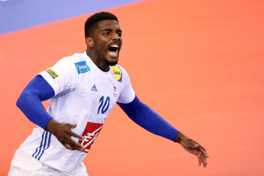 Handball WM 2019: Dika Mem - Testspiel Frankreich vs. Slowenien am 07.01.2019 in Rouen - Copyright: FFHandball / S. Pillaud