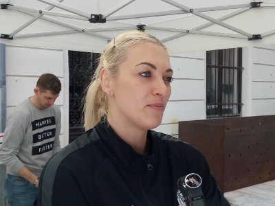 Handball EHF Champions League Final4 Budapest 2019: Anna Sen (HC Rostov-Don) im SPORT4FINAL-Interview. Foto: SPORT4FINAL