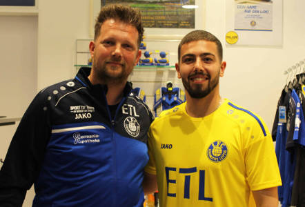 Björn Joppe und Aykut Soyak - Foto: 1. FC Lok Leipzig