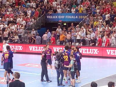 Handball VELUX EHF Final4 Bronze FC Barcelona - Foto: SPORT4FINAL