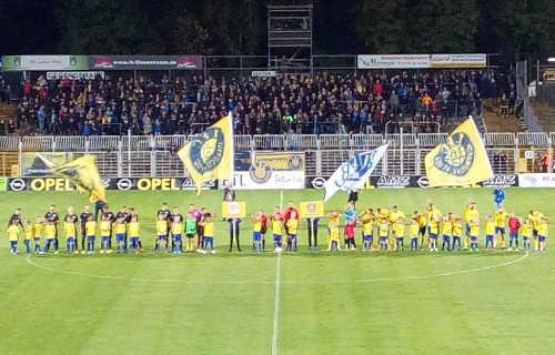 1. FC Lok Leipzig vs. Wacker Nordhausen - Fußball Regionalliga Nordost - Bruno-Plache-Stadion am 27.09.2019 - Foto: SPORT4FINAL