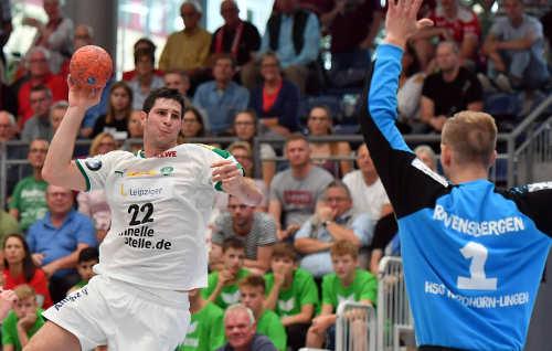 DHB Pokal - HSG Nordhorn-Lingen vs. SC DHfK Leipzig - Marko Mamic - Foto: Rainer Justen