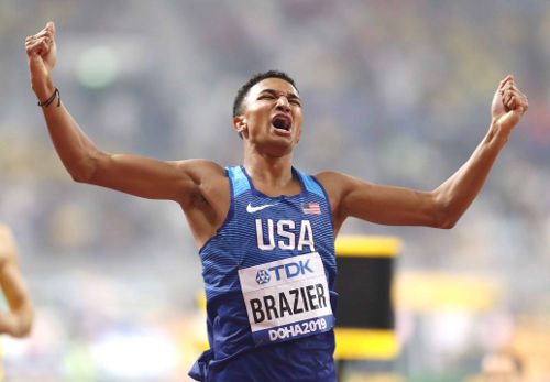 Leichtathletik WM 2019 - Donavan Brazier - Foto: © Getty Images for IAAF