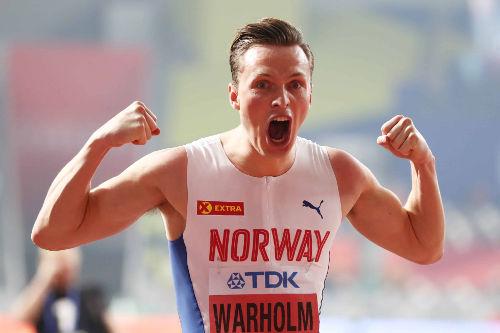Leichtathletik WM 2019 - Karsten Warholm - Foto: © Getty Images for IAAF