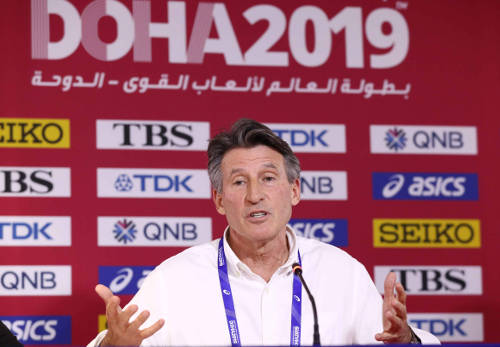 Leichtathletik WM 2019 - Sebastian Coe - Foto: © Getty Images for IAAF