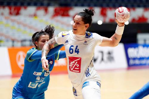 Alexandra Lacrabere - Frankreich vs. Slowenien - Japan Cup 2019 - Foto: FFHandball / S. Pillaud