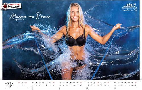 Dresdner SC Kalender 2020 - Mareen von Römer - Foto: Amelie Jehmlich (Art-n-Photo)
