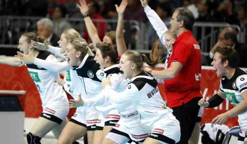 Handball WM 2019 - Deutschland vs. Niederlande - Copyright: IHF