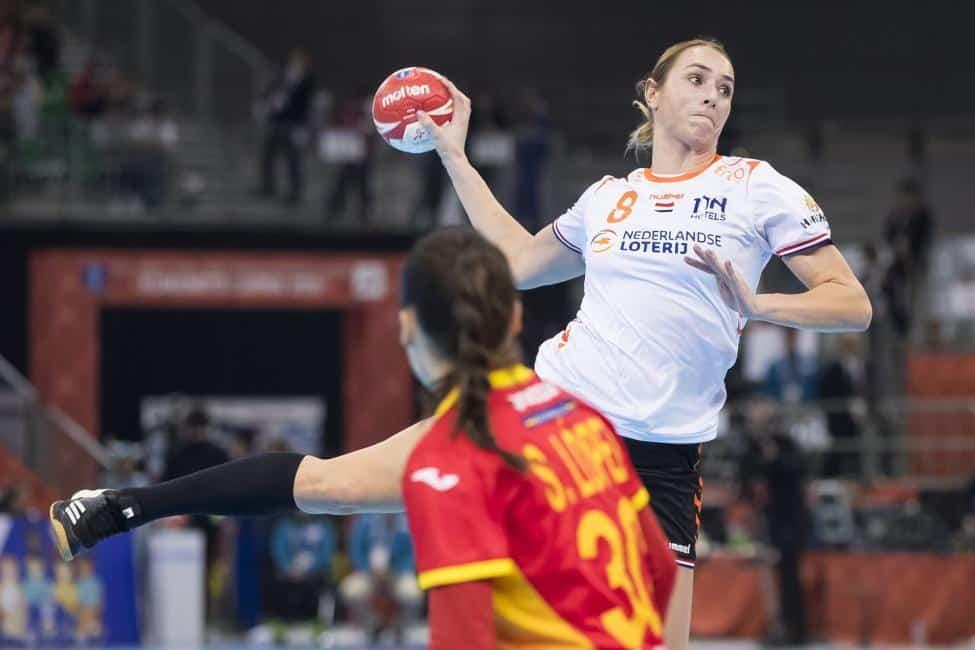 Handball WM 2019 Finale - Niederlande vs. Spanien - Lois Abbingh - Copyright: IHF