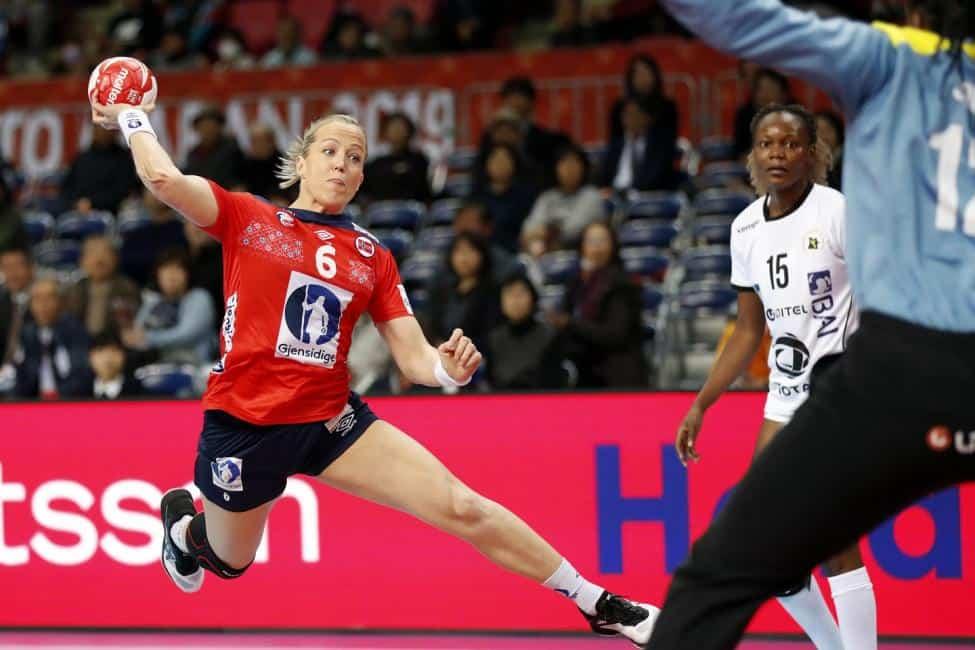 Handball WM 2019 - Norwegen vs. Angola - Heidi Löke - Copyright: IHF
