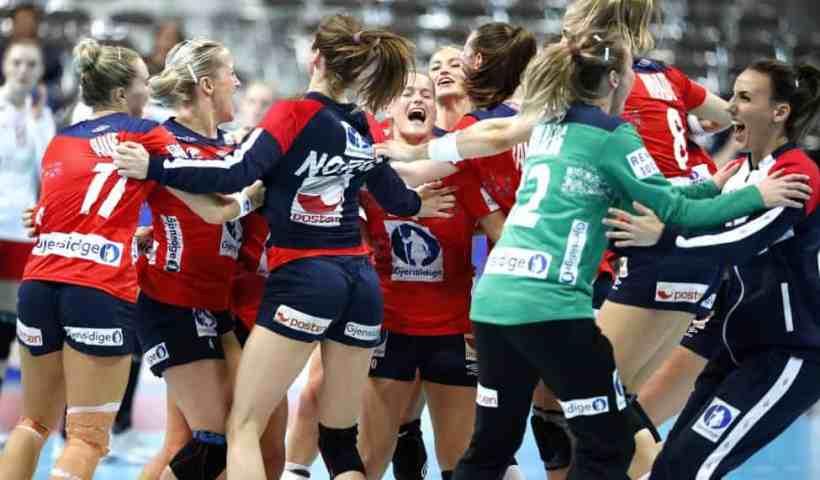 Handball WM 2019 - Norwegen vs. Dänemark - Copyright: IHF