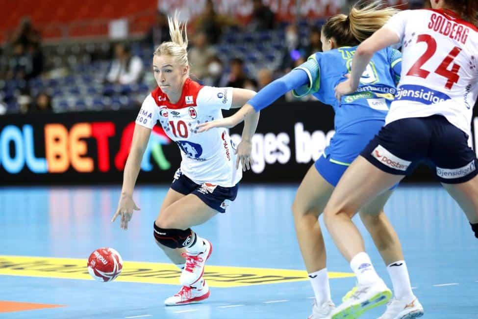 Handball WM 2019 - Stine Oftedal - Norwegen vs. Slowenien - Copyright: IHF