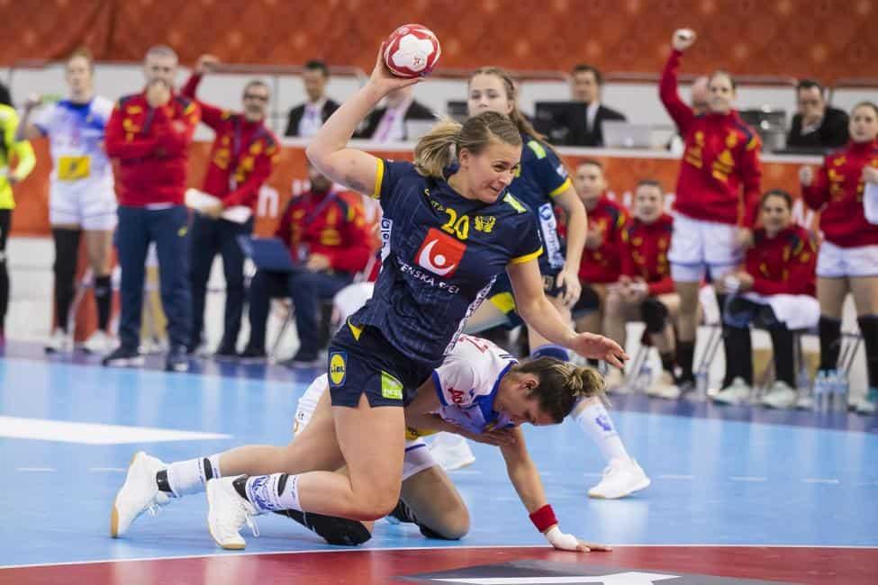 Handball WM 2019 - Schweden vs. Spanien - Isabelle Gullden - Copyright: IHF