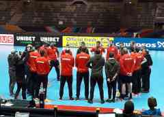 Handball EM 2020 Deutschland beim Training in Stockholm - Copyright: SPORT4FINAL
