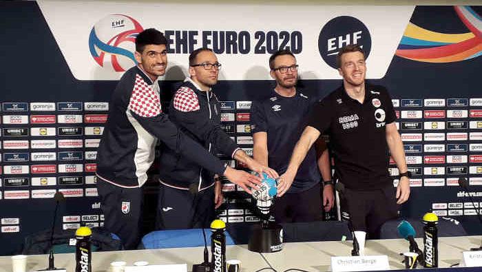 Handball EM 2020 - Semifinale Kroatien Norwegen - Pressekonferenz - Copyright: SPORT4FINAL