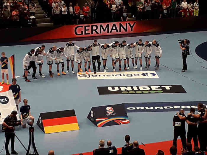 Handball EM 2020 - Team Deutschland vs Weißrussland - Copyright: SPORT4FINAL