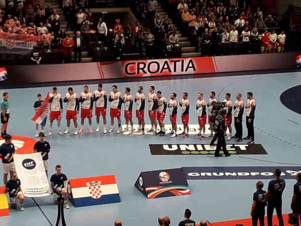 Handball EM 2020 - Team Kroatien vs Spanien - Copyright: SPORT4FINAL