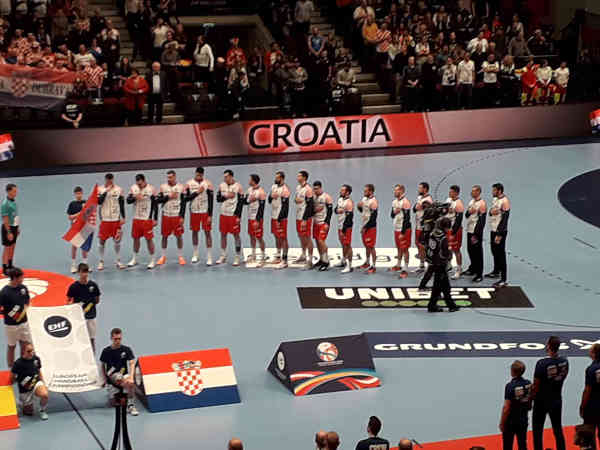 Handball EM 2020 - Team Kroatien vs Spanien - Copyright: SPORT4FINAL