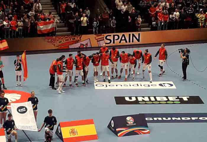 Handball EM 2020 - Team Spanien vs Österreich - Copyright: SPORT4FINAL