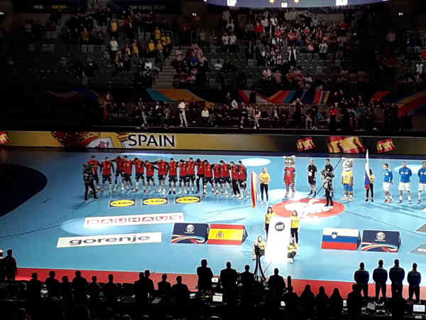 Handball EM 2020 - Team Spanien vs Slowenien - Copyright: SPORT4FINAL