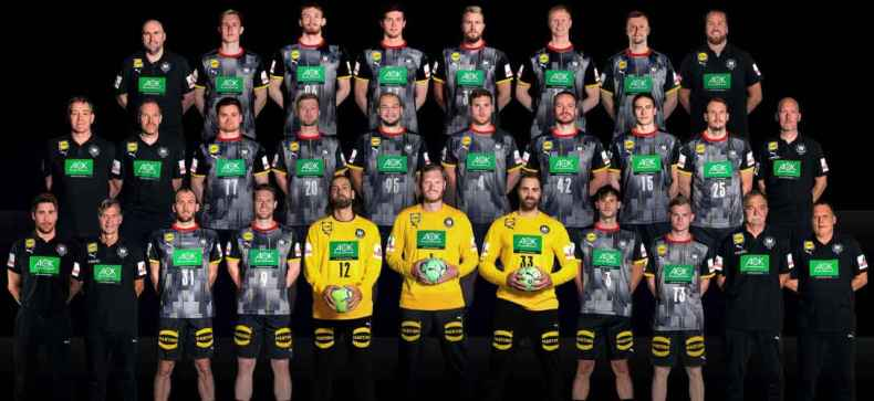 Handball WM 2021 Ägypten – DHB Team – Deutschland – Copyright: Sascha Klahn / DHB