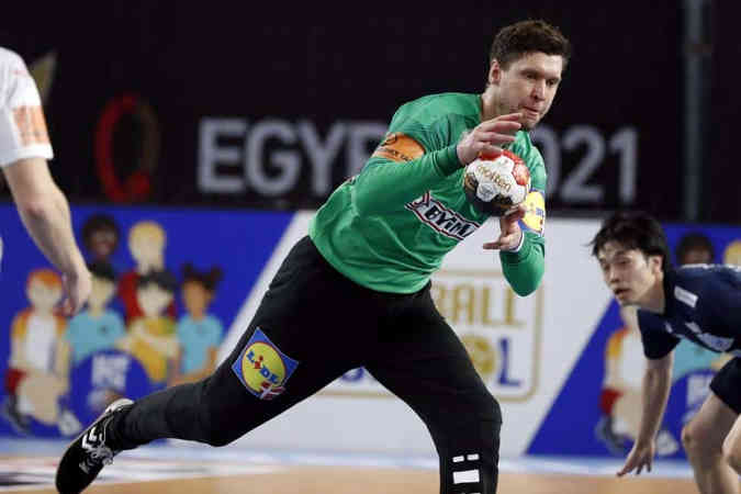 Handball WM 2021 Ägypten – Dänemark vs. Japan – Niklas Landin – Copyright: © IHF / Egypt 2021