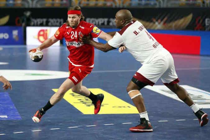 Handball WM 2021 Ägypten – Dänemark vs. Katar – Copyright: © IHF / Egypt 2021