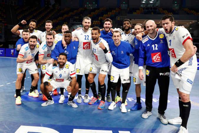 Handball WM 2021 – Frankreich (im Bild) vs Portugal – Copyright: FFHANDBALL / S.PILLAUD