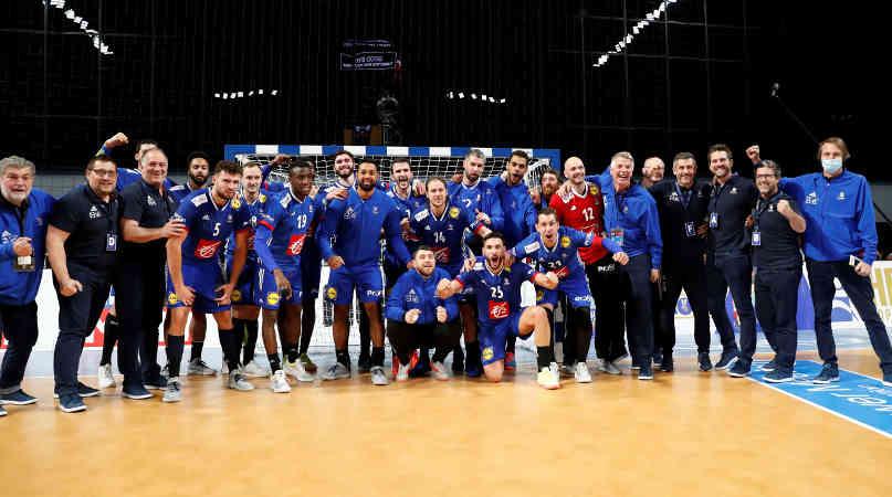 Handball WM 2021 – Frankreich vs Ungarn – Copyright: FFHANDBALL / S.PILLAUD