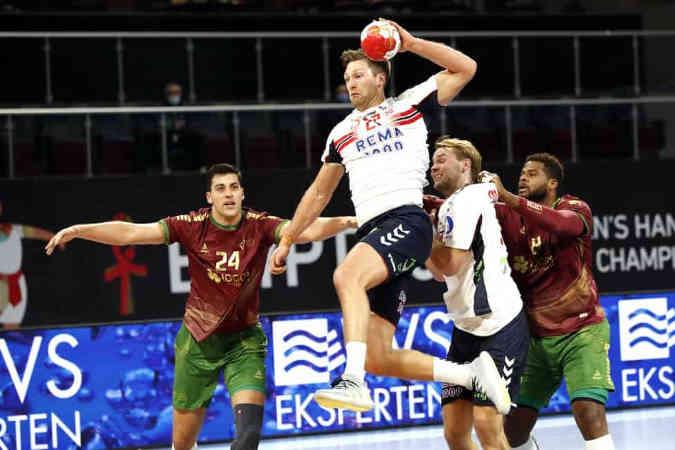 Handball WM 2021 Ägypten – Norwegen vs. Portugal – Copyright: © IHF / Egypt 2021