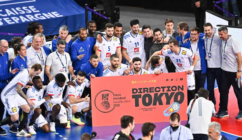 Handball Olympia Qualifikation – Frankreich mit Ticket – Foto: FFHandball / Icon Sport