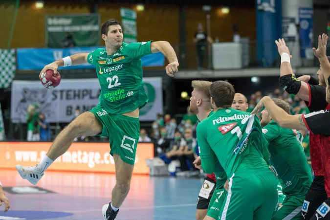 Handball Bundesliga - Marko Mamic - SC DHfK Leipzig - Foto: Karsten Mann