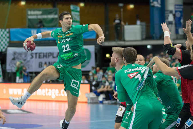 Handball Bundesliga – Marko Mamic – SC DHfK Leipzig – Foto: Karsten Mann