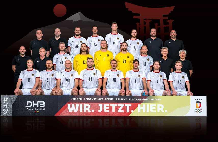 Olympia Tokio 2021 - Deutschland - DHB Handball Team - Foto: Sascha Klahn/DHB