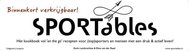 logo sportables kookboek Karin Lambrechtse dansdiëtist