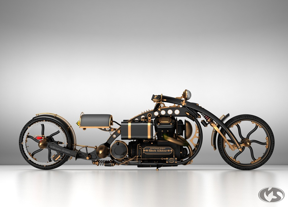 steampunk-motorcycle