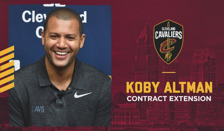 Cavaliers sign GM Koby Altman to contract extension