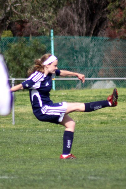 Heather M football