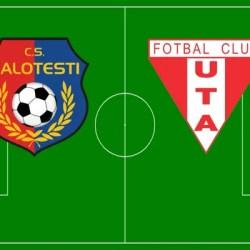 Livetext, ora 11.00: CS Balotești - UTA 2-2, final
