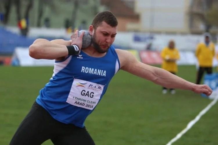 Aradul și-a pierdut cel mai bun sportiv al anului 2016: Gag s-a transferat la CSM București!
