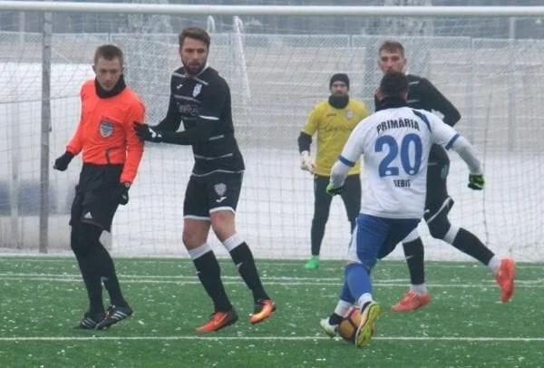 Sebișenii - înfrânți la scor de neprezentare la Timișoara, dar Cojocaru e  mulțumit de implicarea  jucătorilor săi