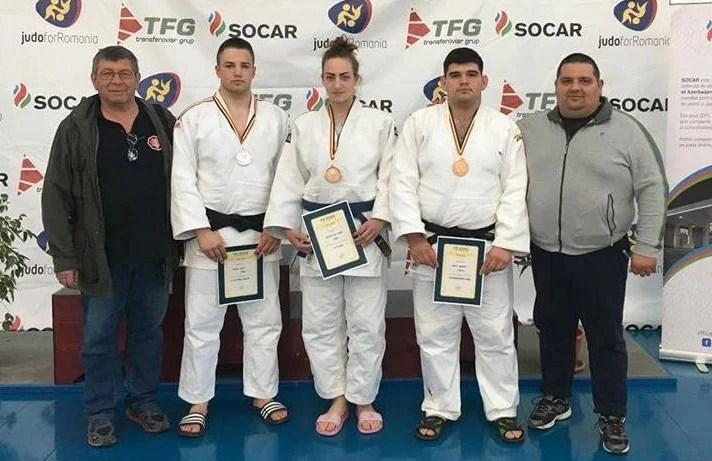 Trei medalii arădene la naționalele Under 23 la judo