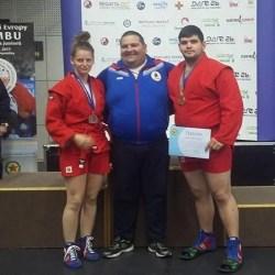 R. Nagy și Rusniac, bronz la Europenele de Sambo