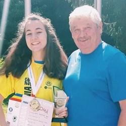 Record personal pentru trăgătoarea Daria Haristiade în Cehia