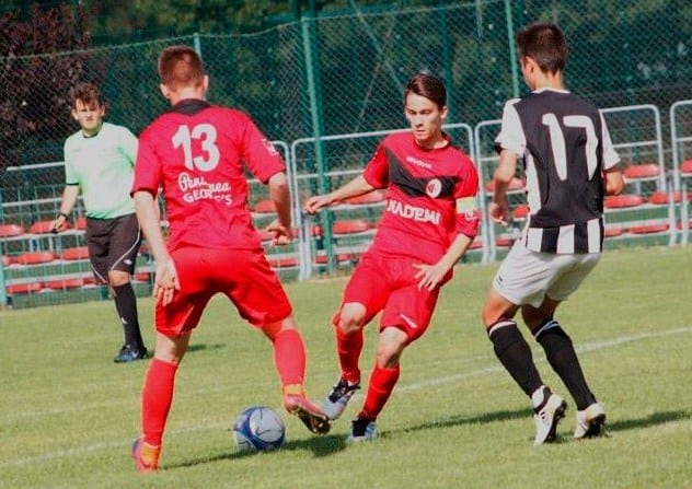 Pe locul 4 la semifinala națională rezervată juniorilor A1: Unirea Sântana - Victoria Carei 0-1