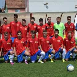 """,,Tricolorii"""" au revenit de la scor de neprezentare: Selecționata Aradului - România Under 15  3-4"""